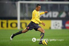 Жилберто Силва из 'Арсенала' занял первое место в рейтинге
