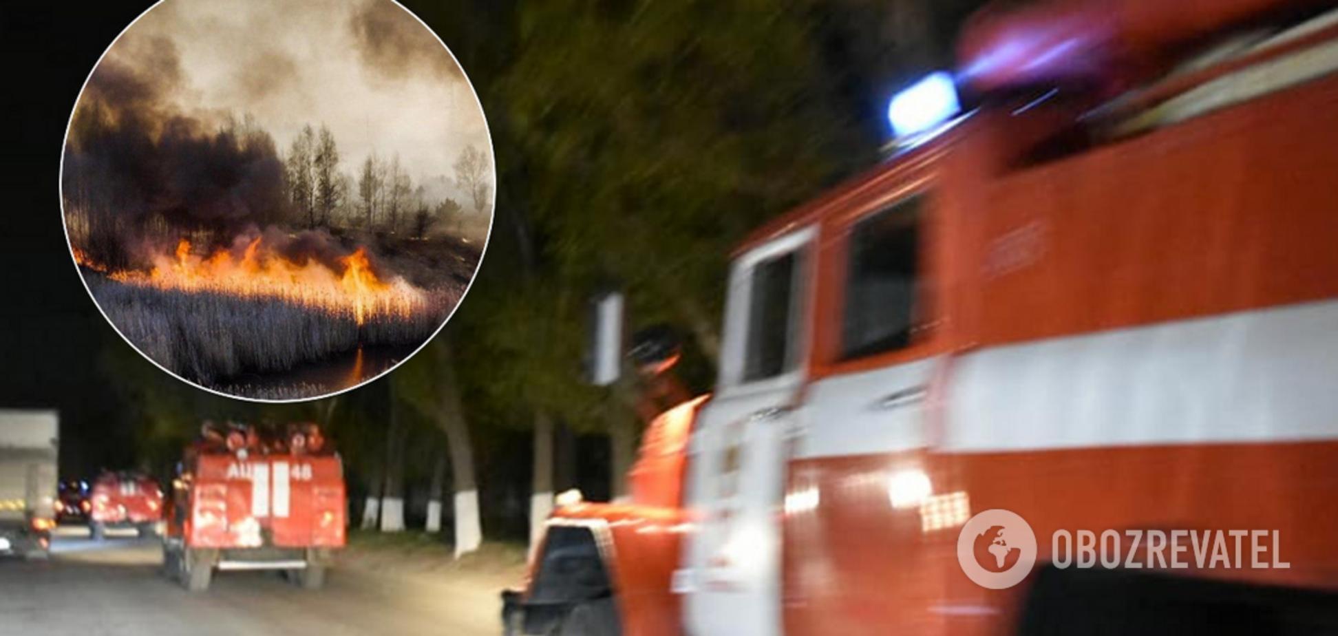 Рятувальники з Дніпропетровщини вирушили в Чорнобиль для ліквідації катастрофи. Фото