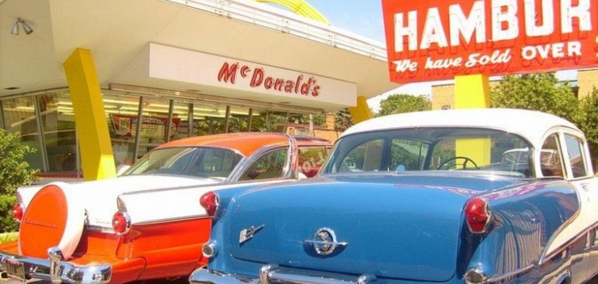 Первый 'МакДональдс' открылся ровно 65 лет назад: как он выглядел. Фото