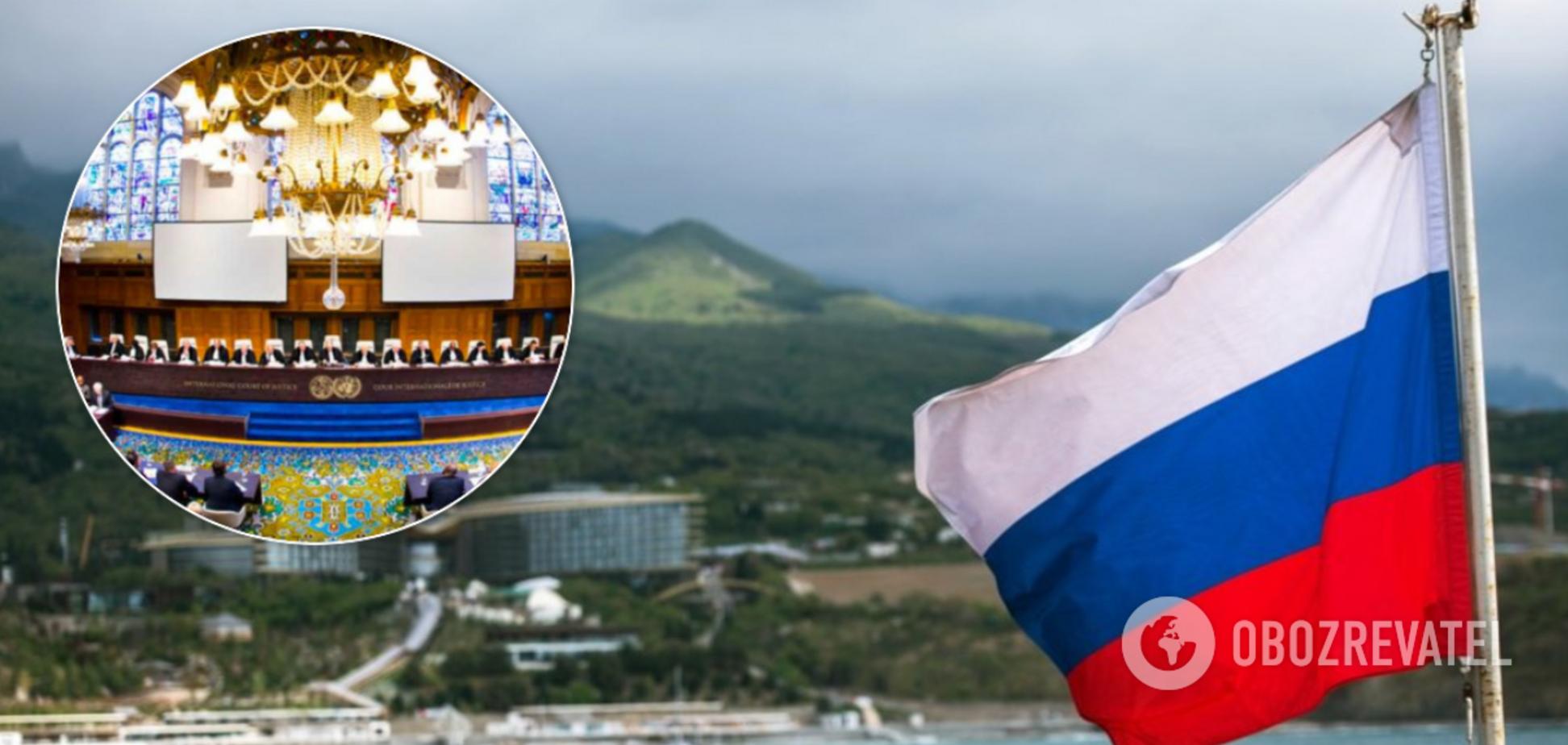 Україна відправила до Гааги докази злочинів Росії в Криму