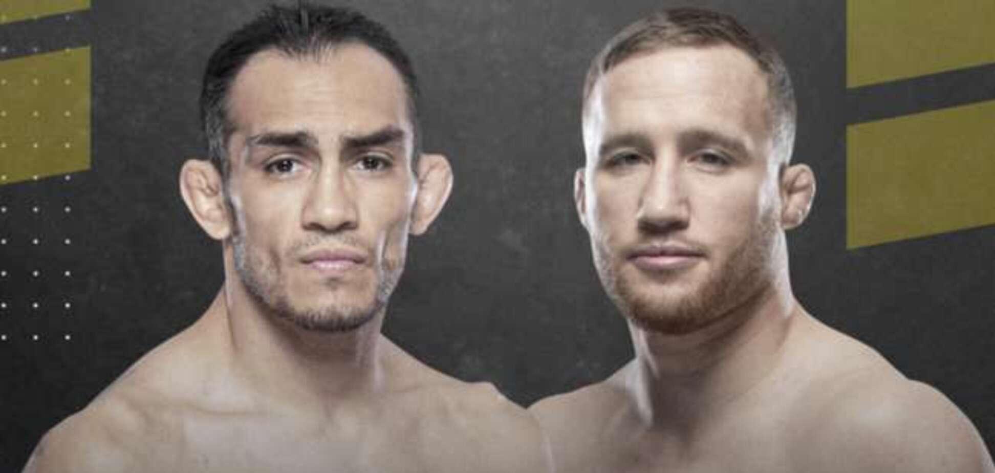 Поєдинок Тоні Фергюсона і Джастіна Гетжі повинен стати головною подією UFC 249
