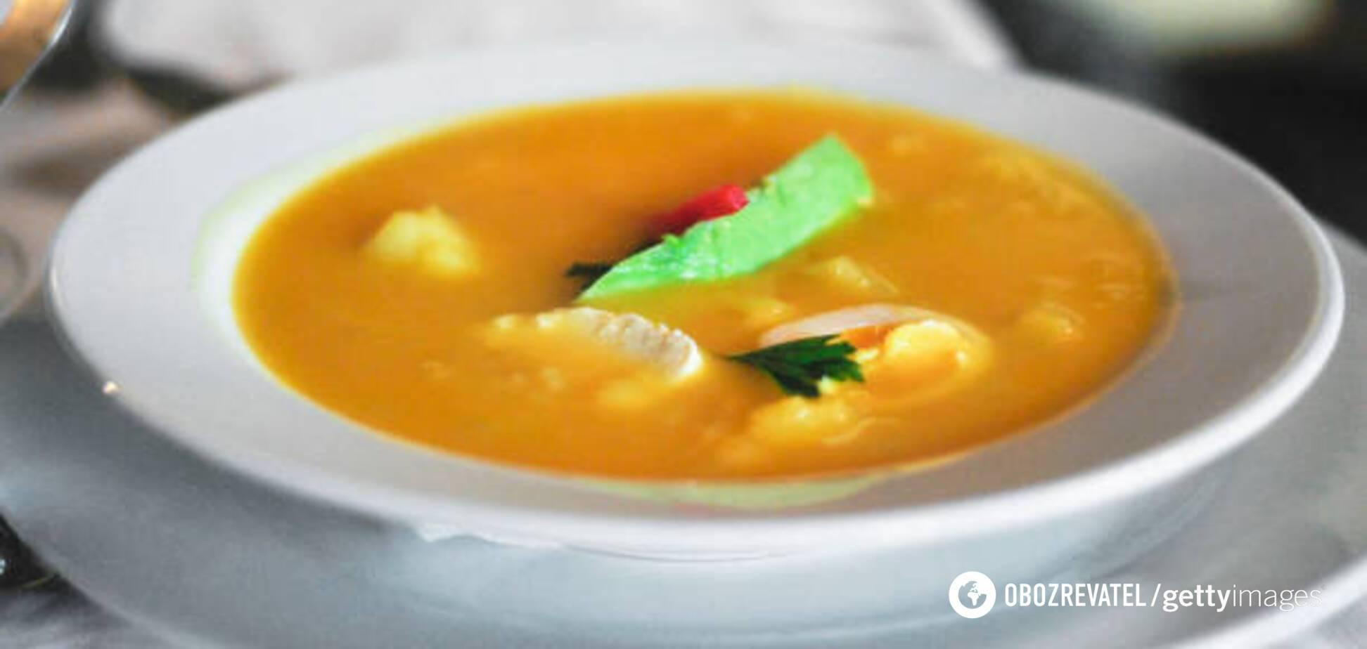 Сирний суп від відомого кухаря