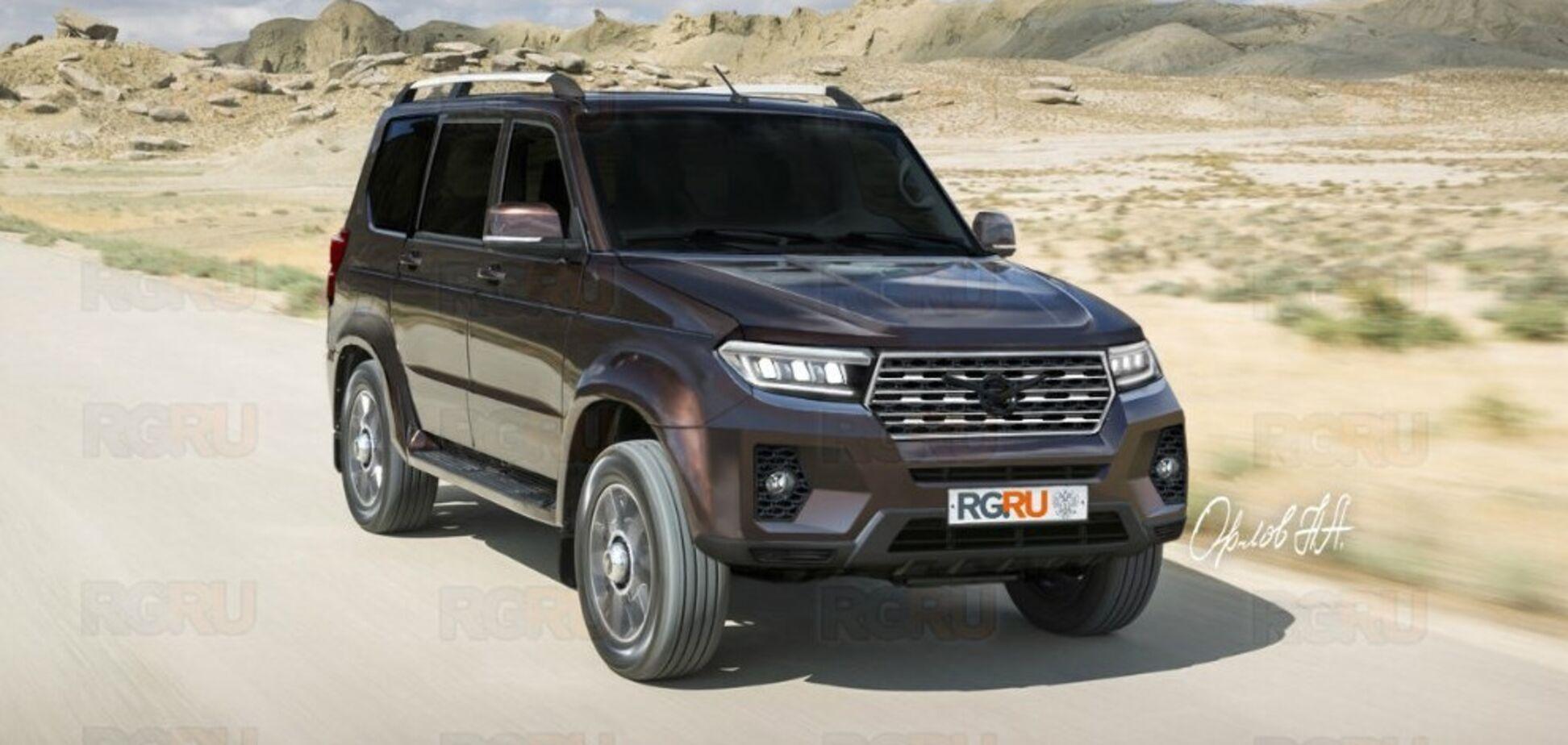 Соперник Toyota Prado от УАЗ: появились новые фото