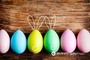 10 способів оригінально пофарбувати яйця до Великодня