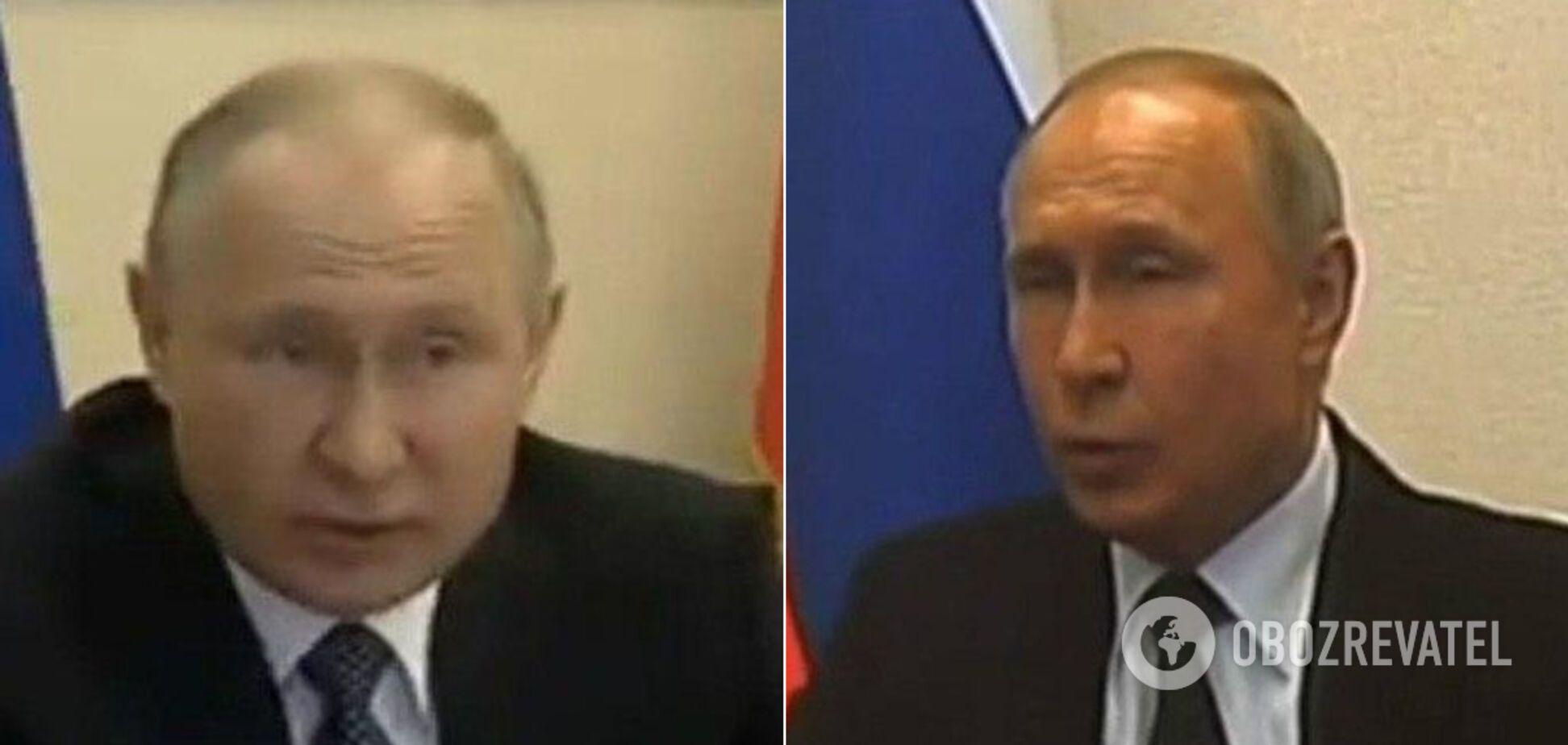 От загорелого до бледного: Путина уличили в использовании двойника. Фото