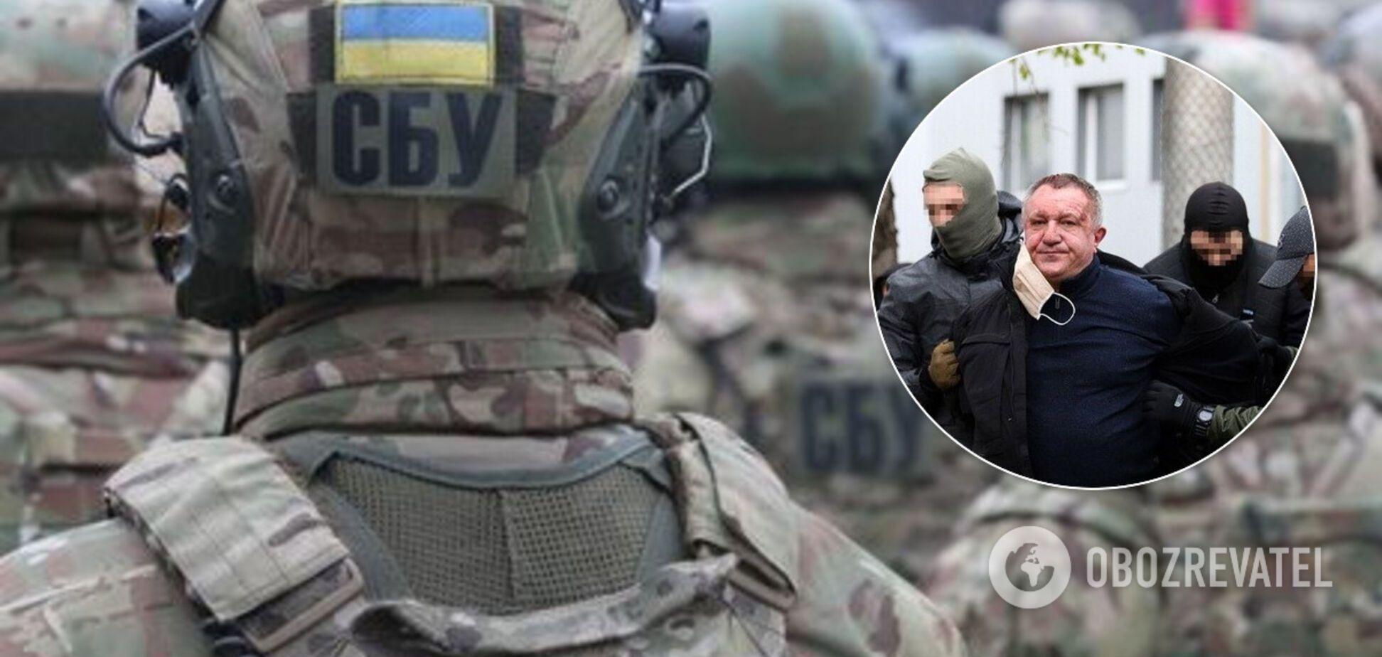 Затримано поплічника генерал-майора СБУ, якого звинувачують у державній зраді