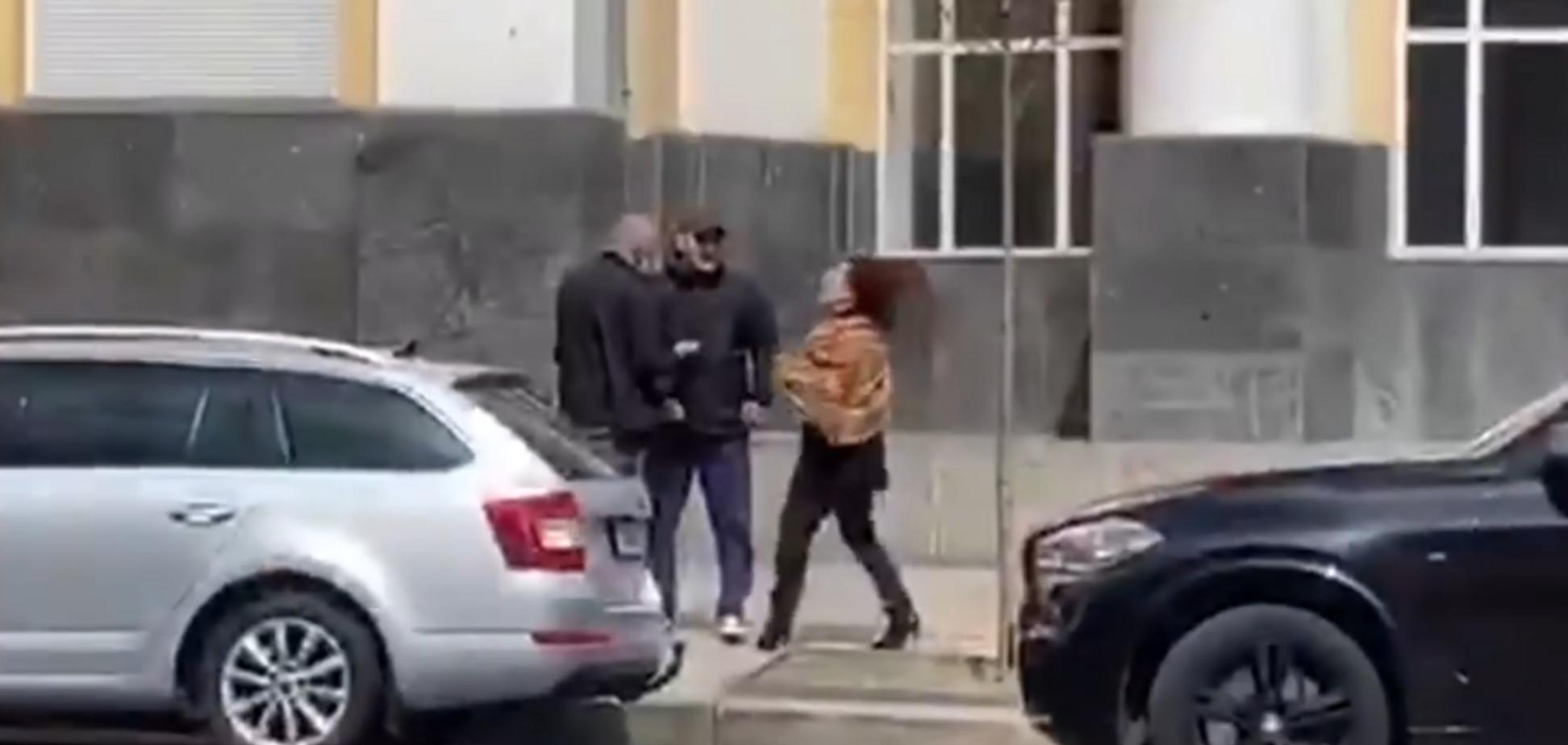 Тетяна Редько плюнула в Юрія Яремчука