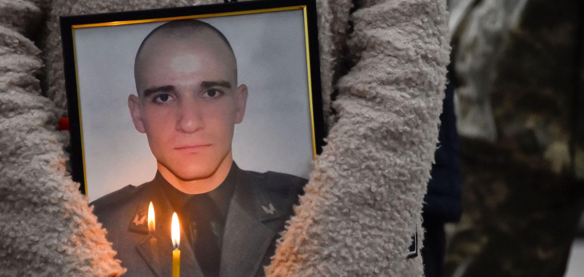 В Кропивницком трогательно попрощались с погибшим на Донбассе защитником Украины. Фото