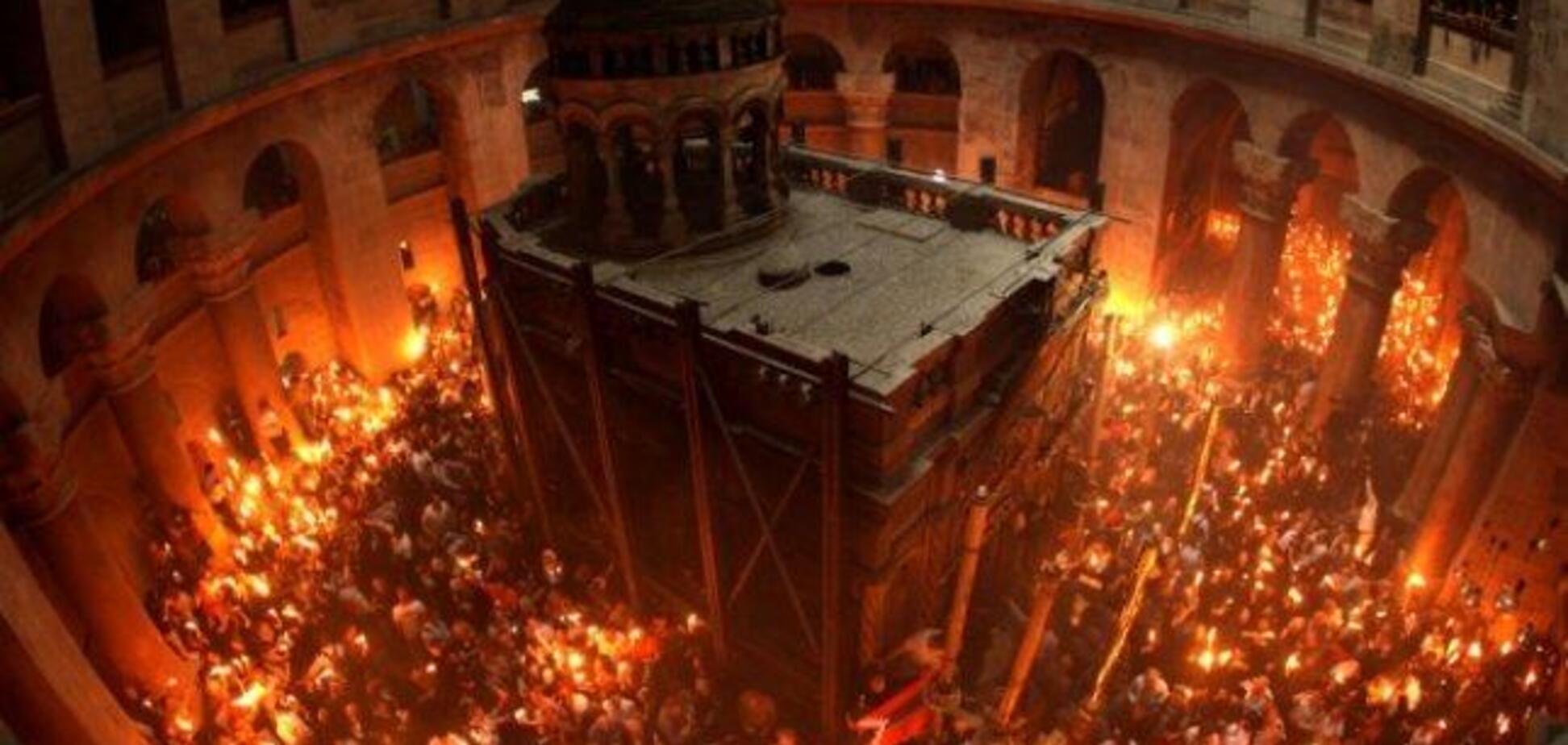 Схождение Благодатного огня: как будет проходить церемония в Храме Гроба Господня