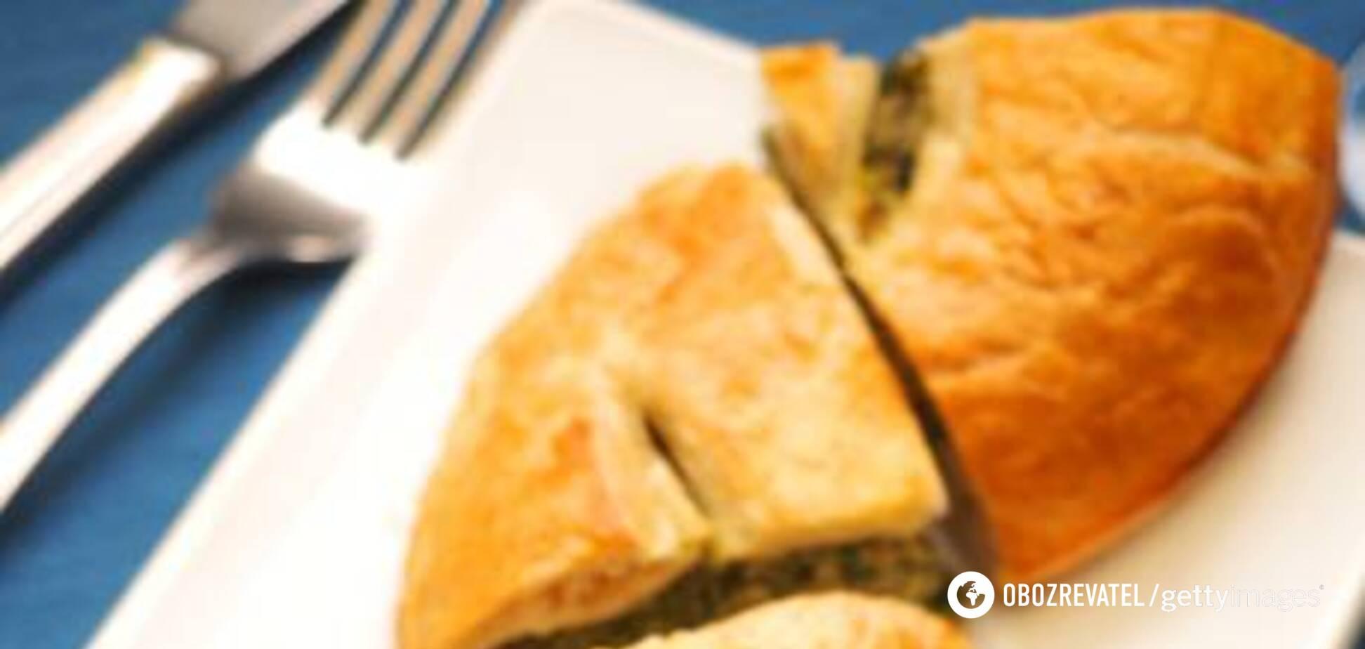 Великодній пиріг зі шпинатом від Марко Черветті
