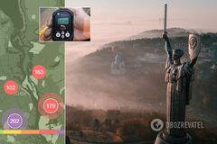 Київ огорнули моторошні хмари диму і пилу: названі наступні області-'жертви'