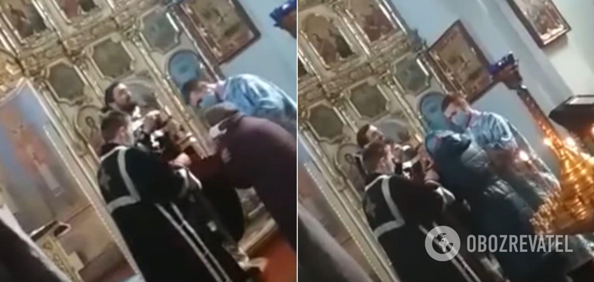 У Коростені священники потрапили в гучний скандал через карантин. Відео