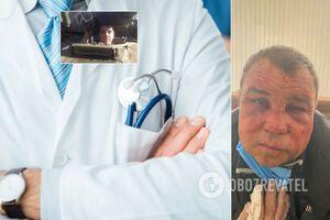 Медичка пояснила відмову лікувати по-звірячому побитого ветерана АТО з Києва: у нього множинні забиті місця і садна