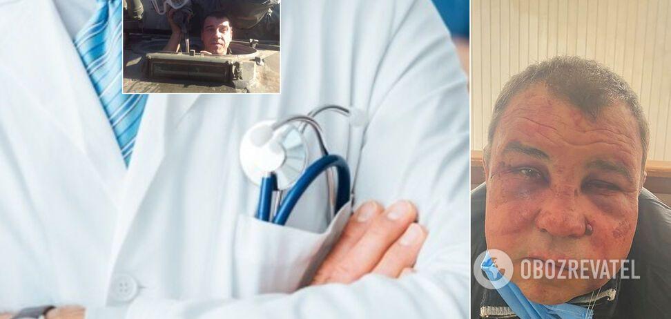 У Києві лікарі цинічно відмовилися допомогти жорстоко побитому ветерану АТО: українці в гніві. Фото