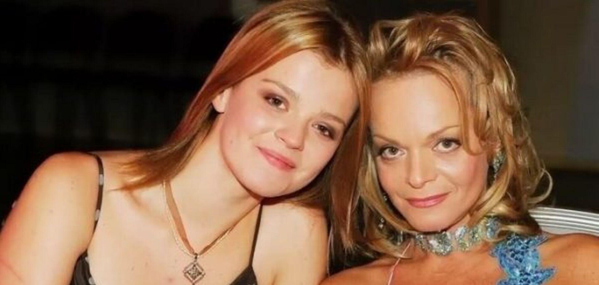 Лариса Долина з донькою Ангеліною