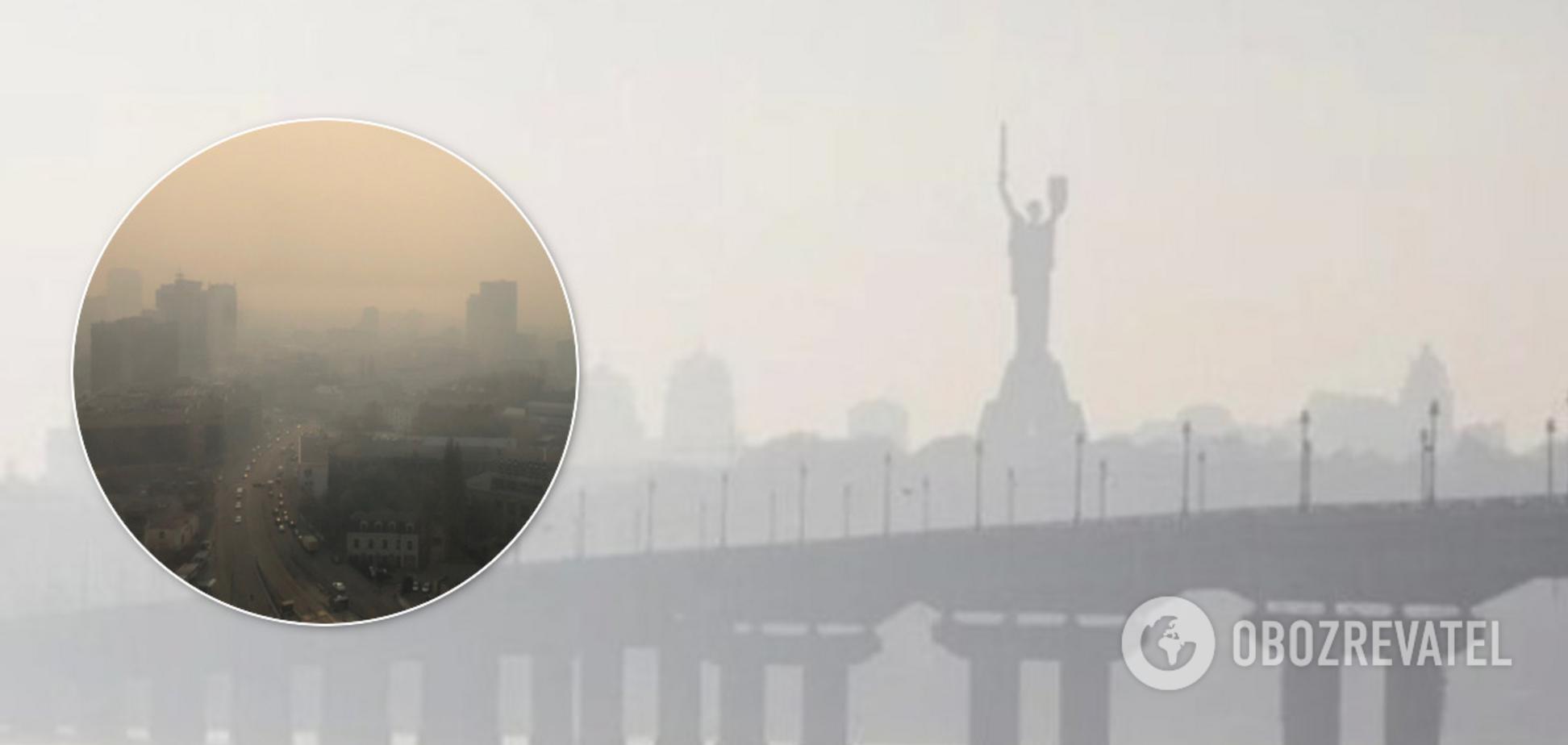 Повітря у Києві знову найбрудніше у світі: здоров'я українців під загрозою