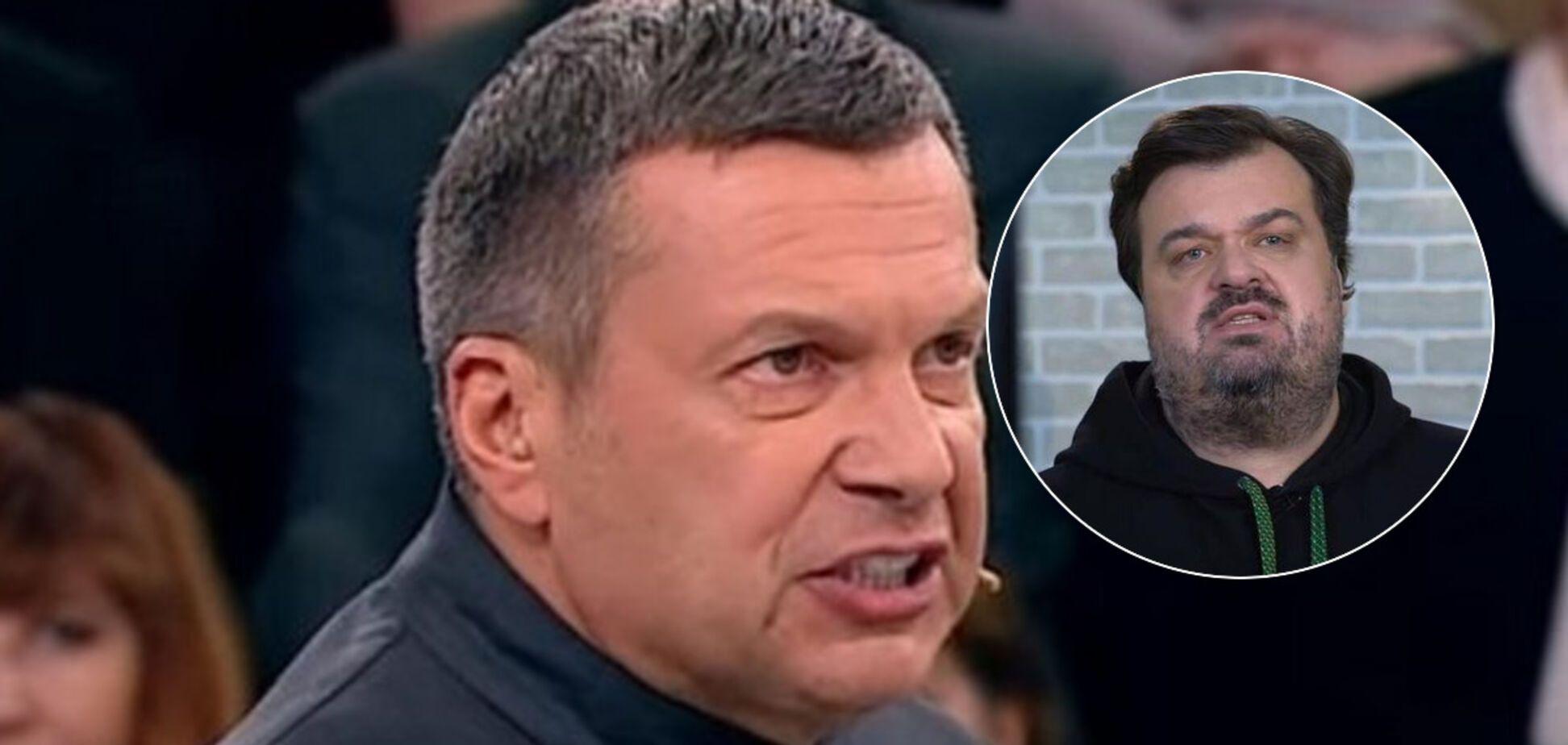 Соловйова зловили на брехні в скандалі з Уткіним