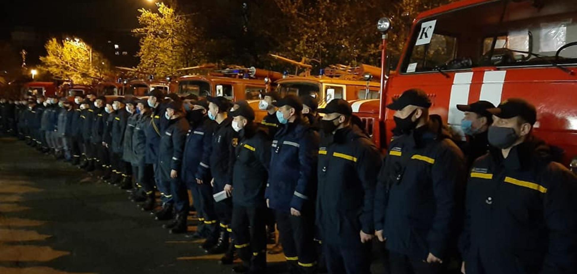 З Дніпра відправили велику групу пожежних в Чорнобильську зону