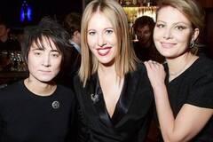 Земфира, Рената Литвинова и Ксения Собчак