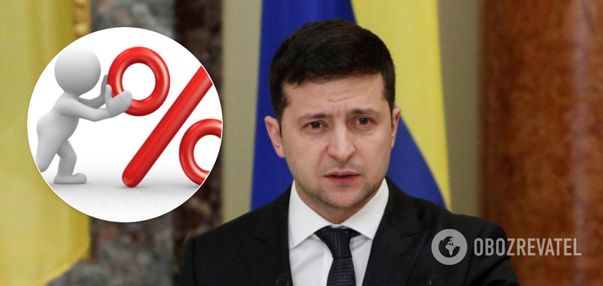 У Зеленского вновь упал рейтинг популярности среди украинцев: новые цифры