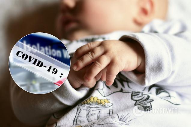 В Харькове инфицированная COVID-19 родила здорового ребенка