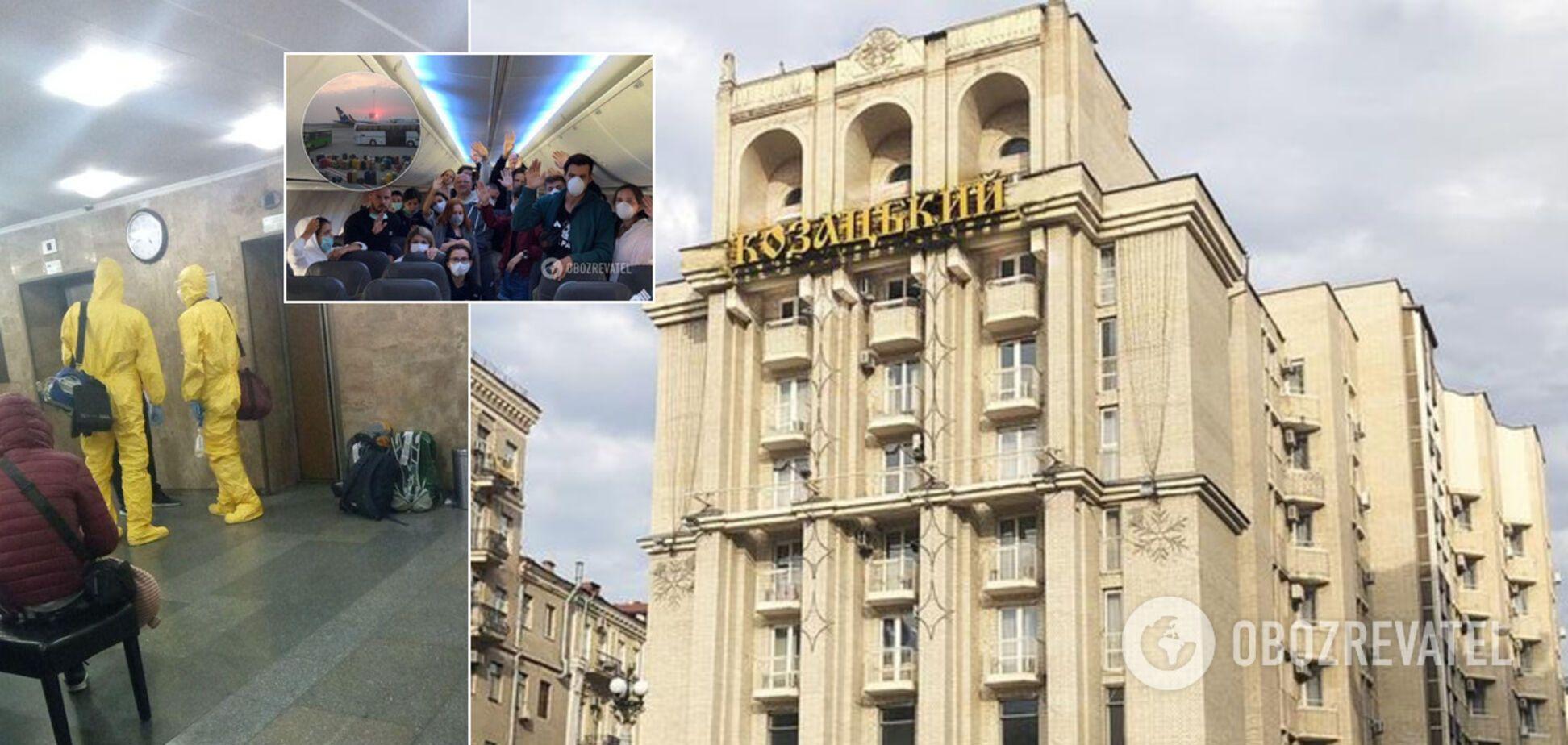 Как проходит обсервация украинцев в 'Казацком': пьянки, бунт и тайский массаж