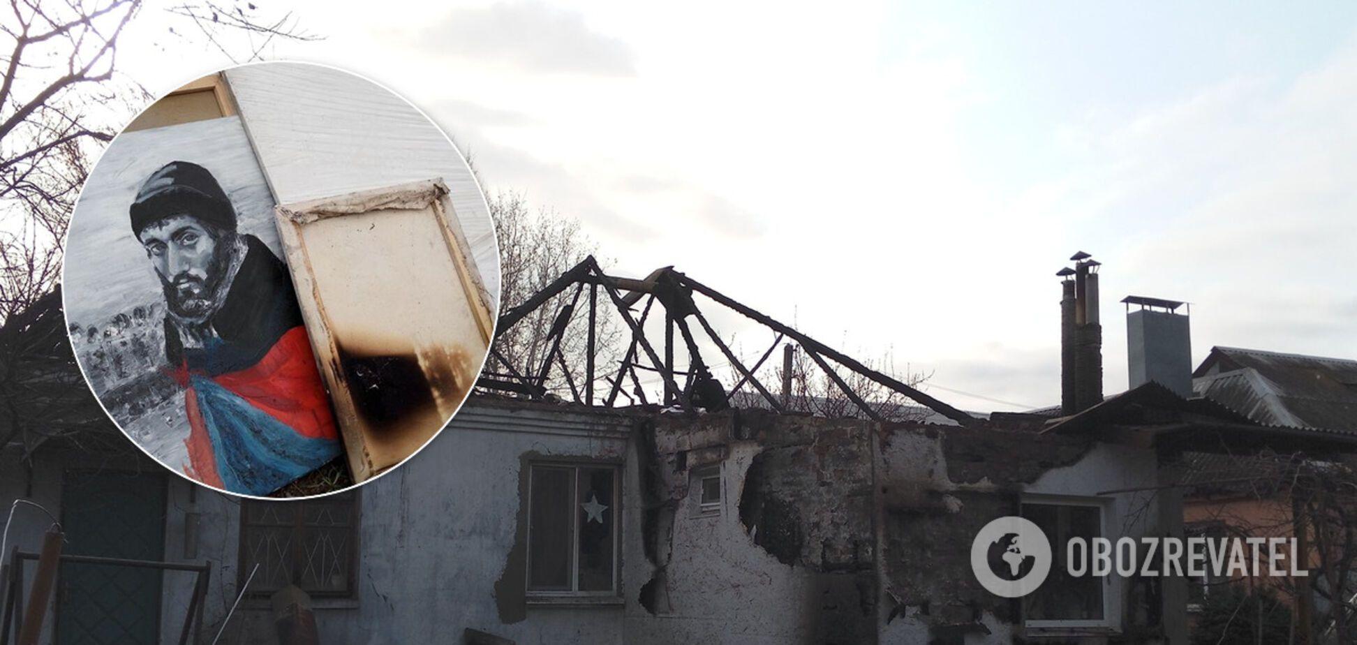 У Пианиста Майдана сгорел дом: фото и реквизиты для помощи