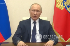 У Путіна проблеми зі здоров'ям? У зверненні глави РФ помітили нюанс