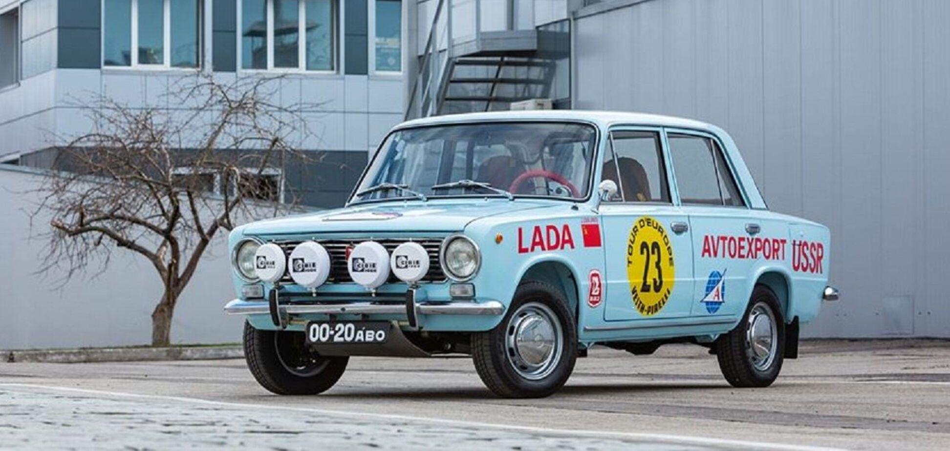 Подарок к юбилею: к 50-летию ВАЗ-2101 воссоздали гоночную 'копейку'