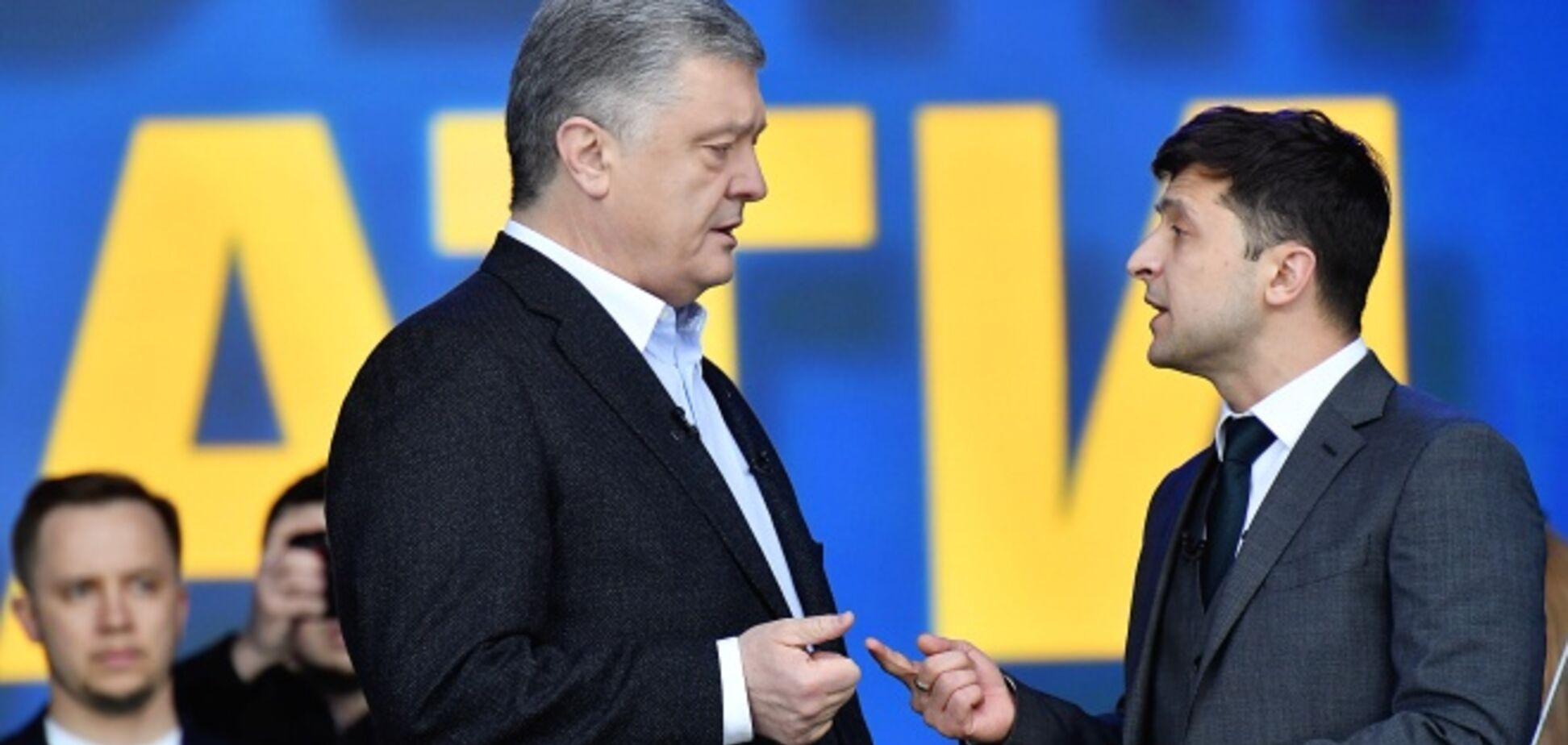Зеленский не ответил на вопросы, которые сам же задавал Порошенко на дебатах – СМИ