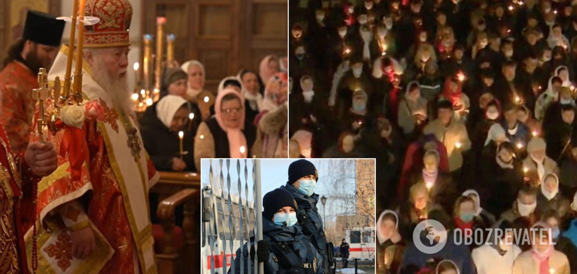В Украине церковников УПЦ МП массово наказали за нарушение карантина на Пасху