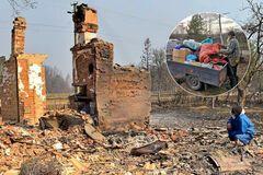 Горят села и лес: когда закончится пожар на Житомирщине и кто в этом виноват