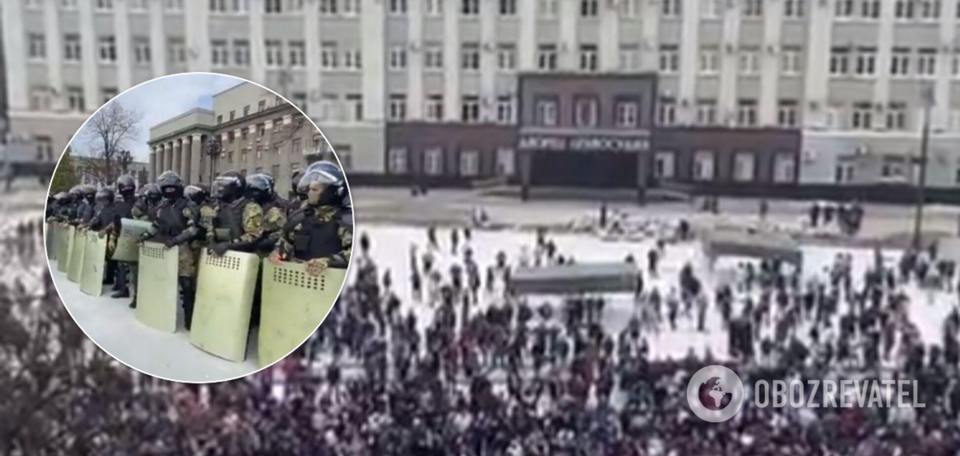 В Северной Осетии взбунтовались против карантина: ОМОН разогнал тысячи людей. Фото и видео