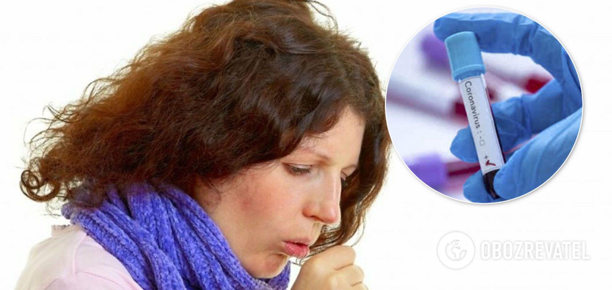 Не только сухой кашель: медик озвучил новый симптом коронавируса