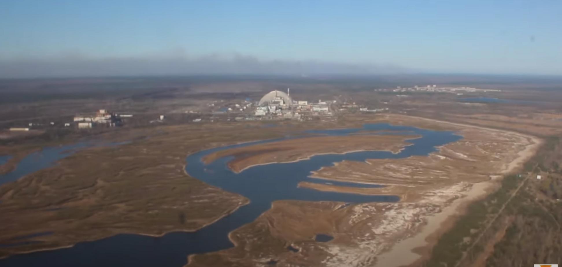 В Чернобыльской зоне продолжают тушить пожары