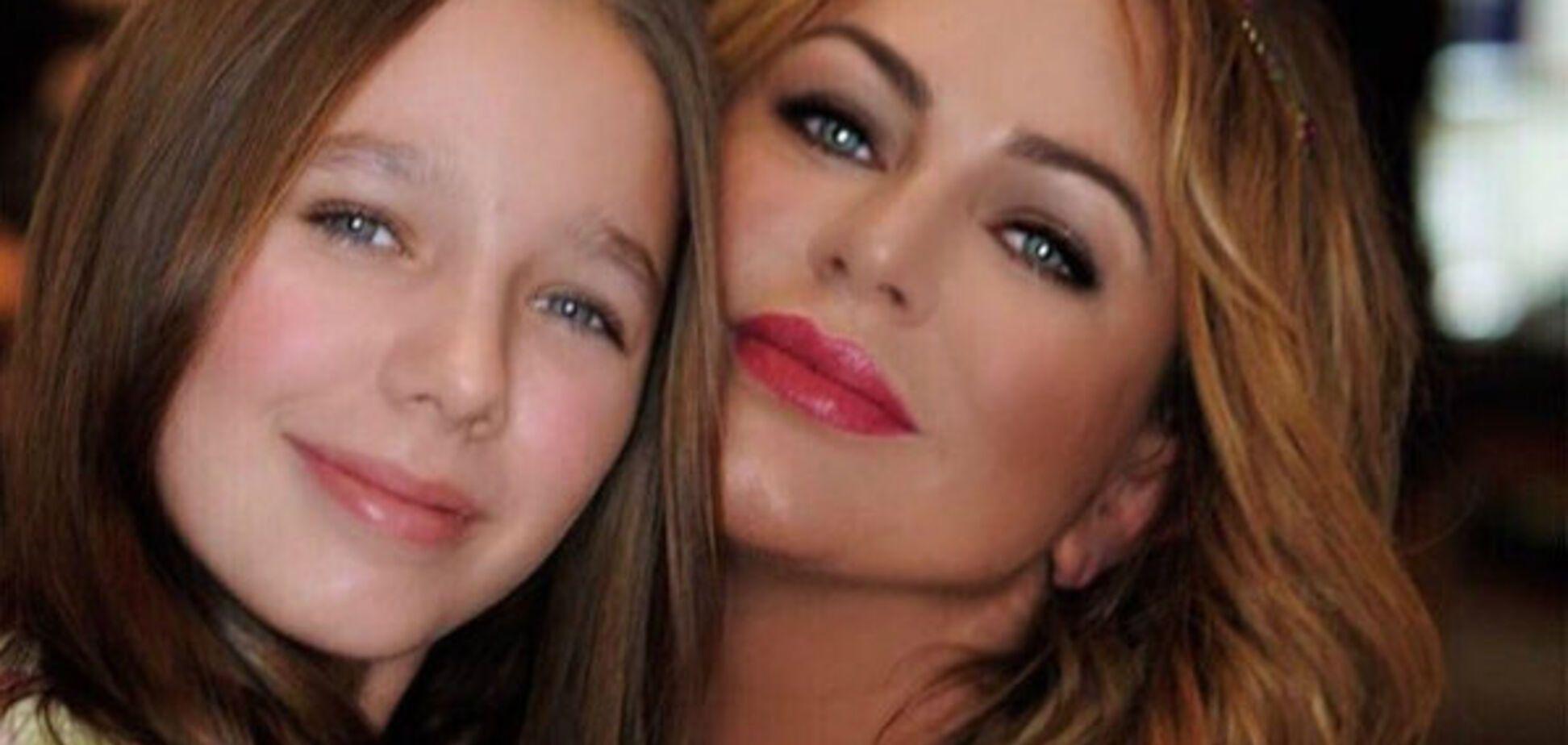 Повзрослевшая дочь Началовой стала копией певицы: как выглядит 13-летняя девочка