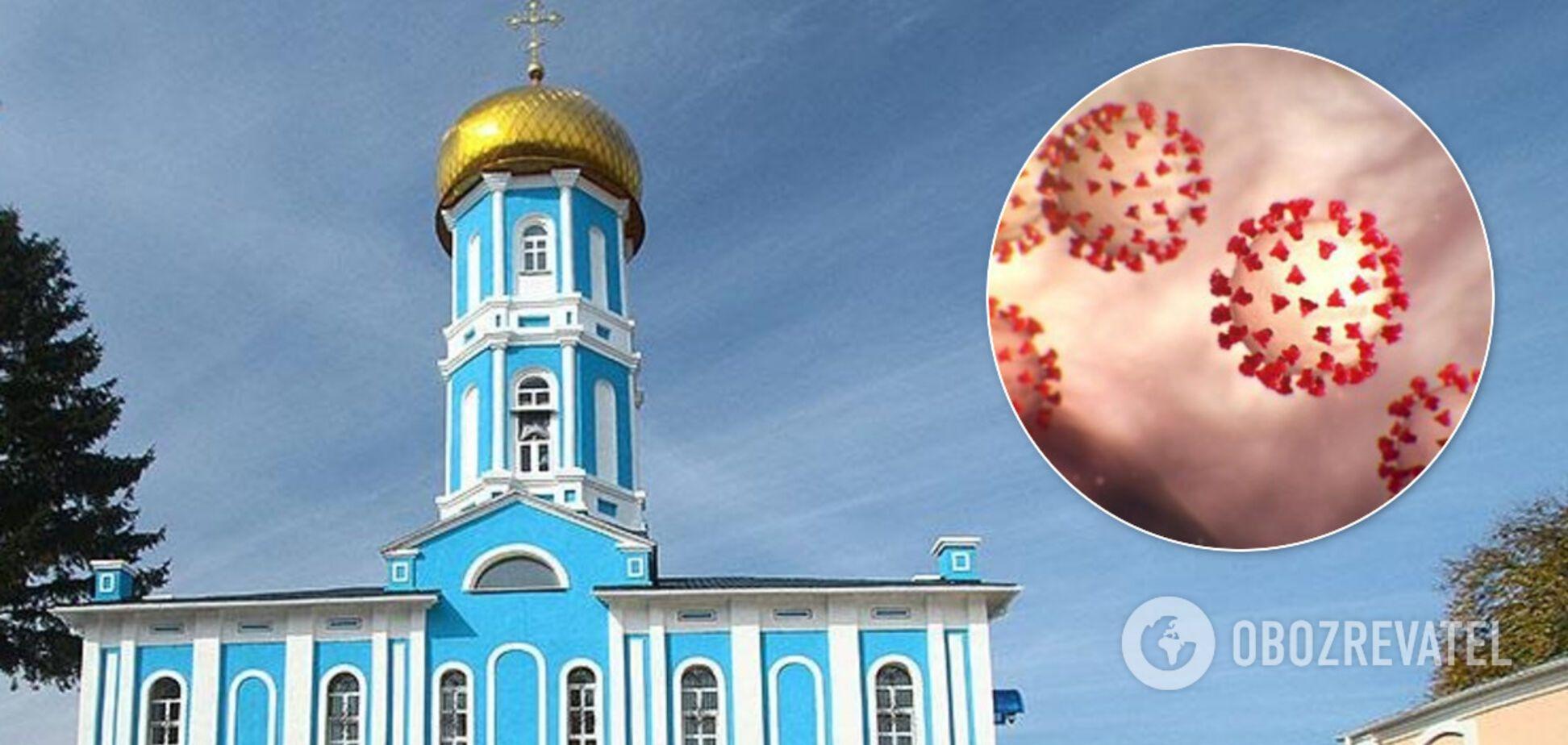 Увеличилось количество зараженных COVID-19 в монастыре УПЦ МП на Хмельниччине