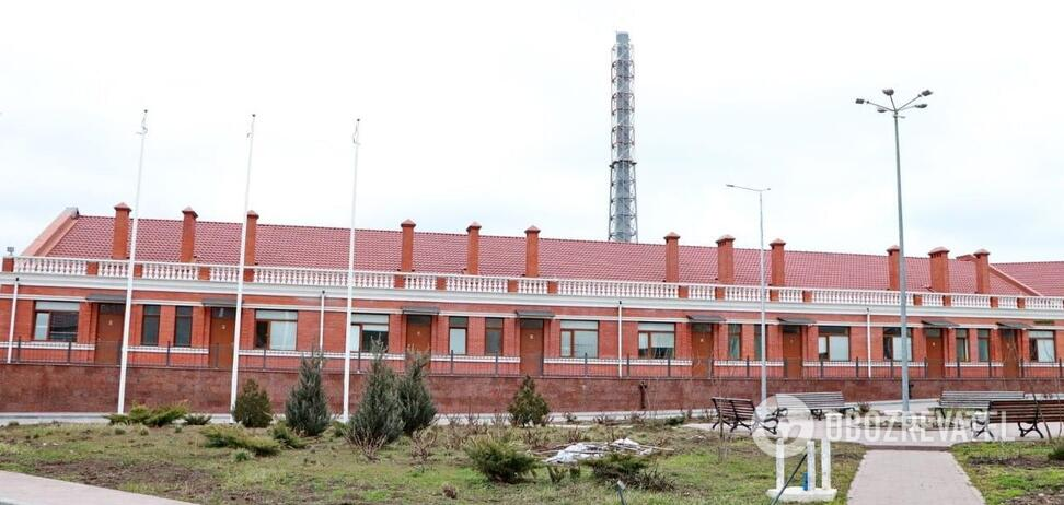 Новый корпус Одесской городской клинической инфекционной больницы