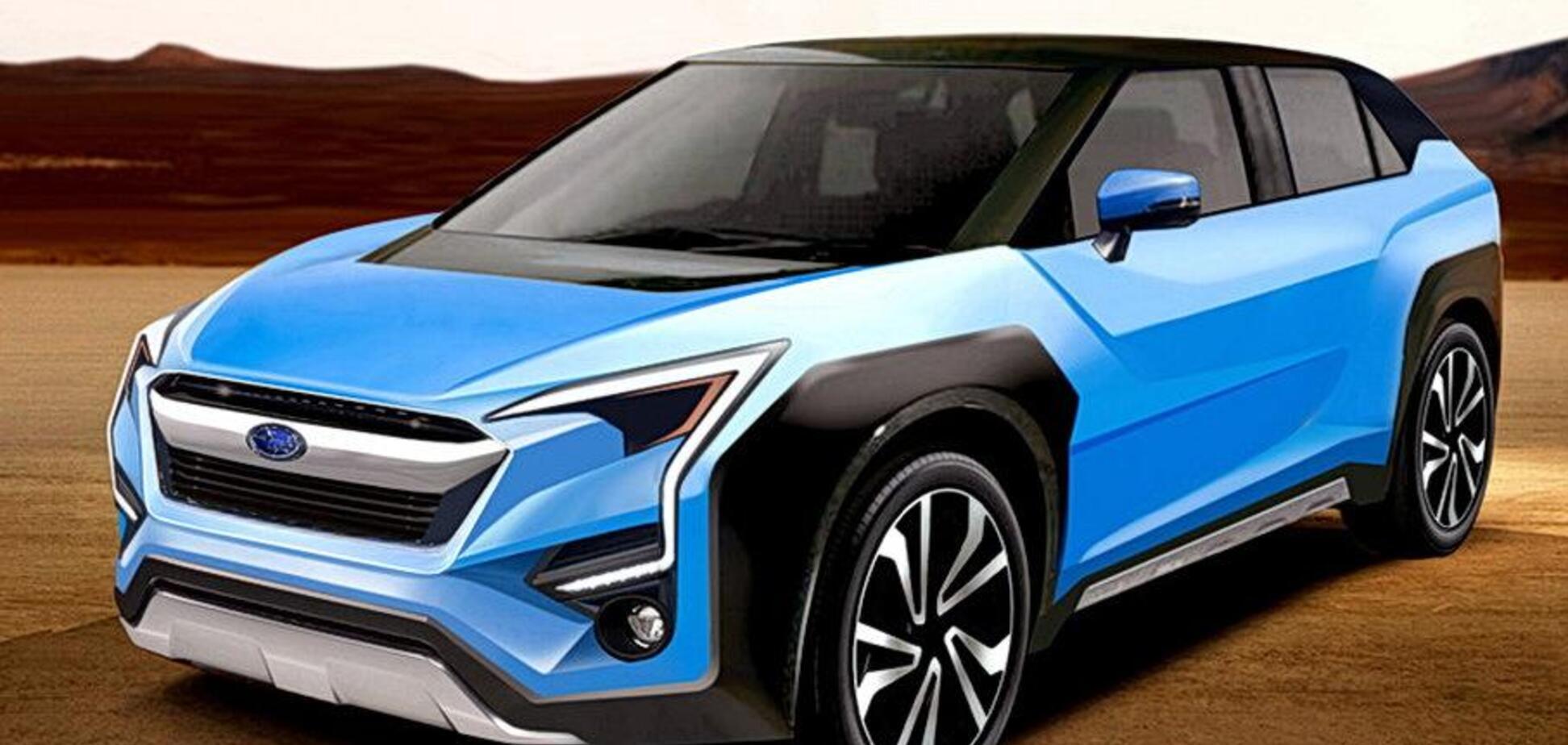 Первый электромобиль Subaru: 290 сил, привод 4х4 и 500 км хода
