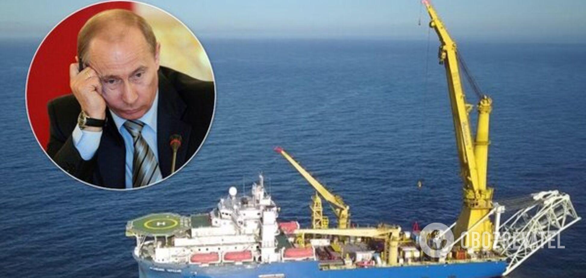 Судно для завершення 'Північного потоку-2' заблукало у морі