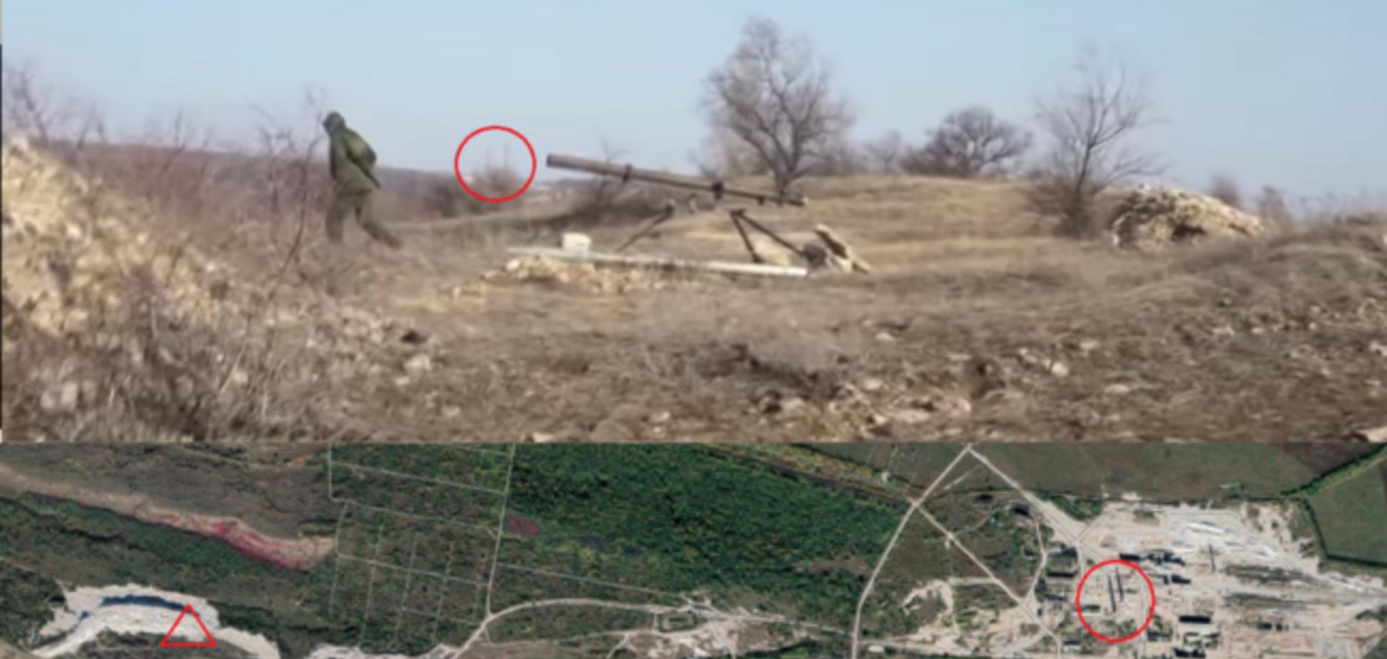 Терористи ДНР розсекретили позиції