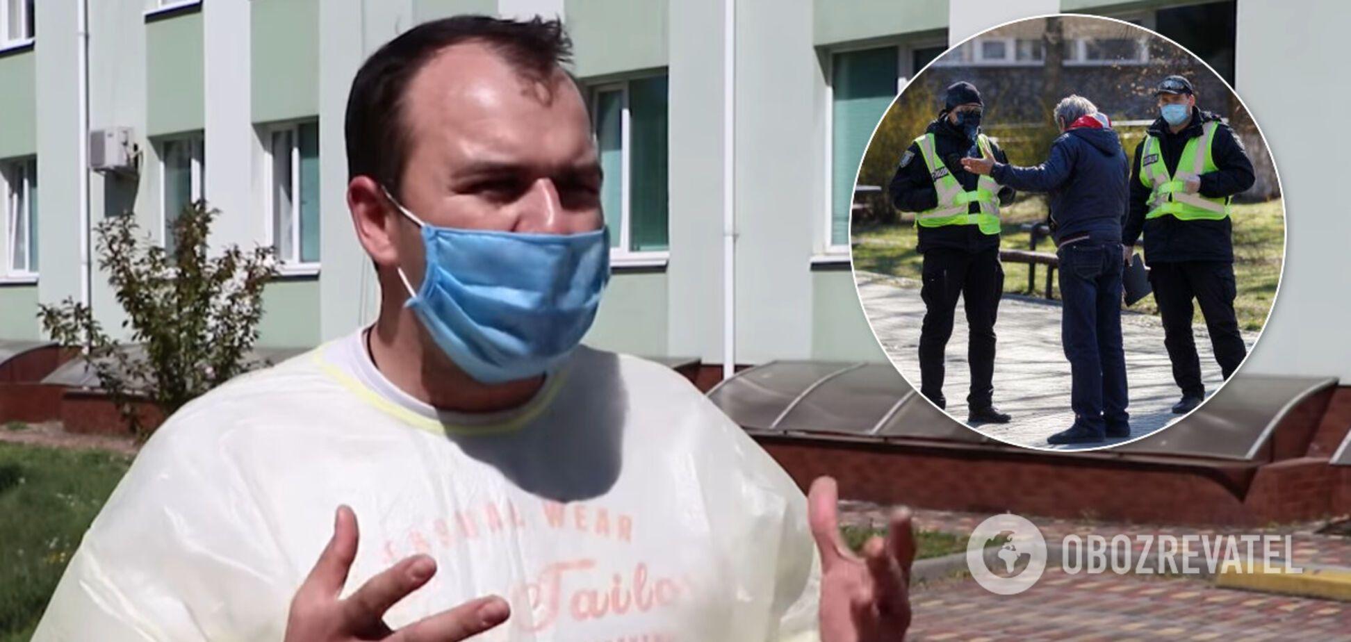 Украинский медик жестко высказался о нарушителях карантина