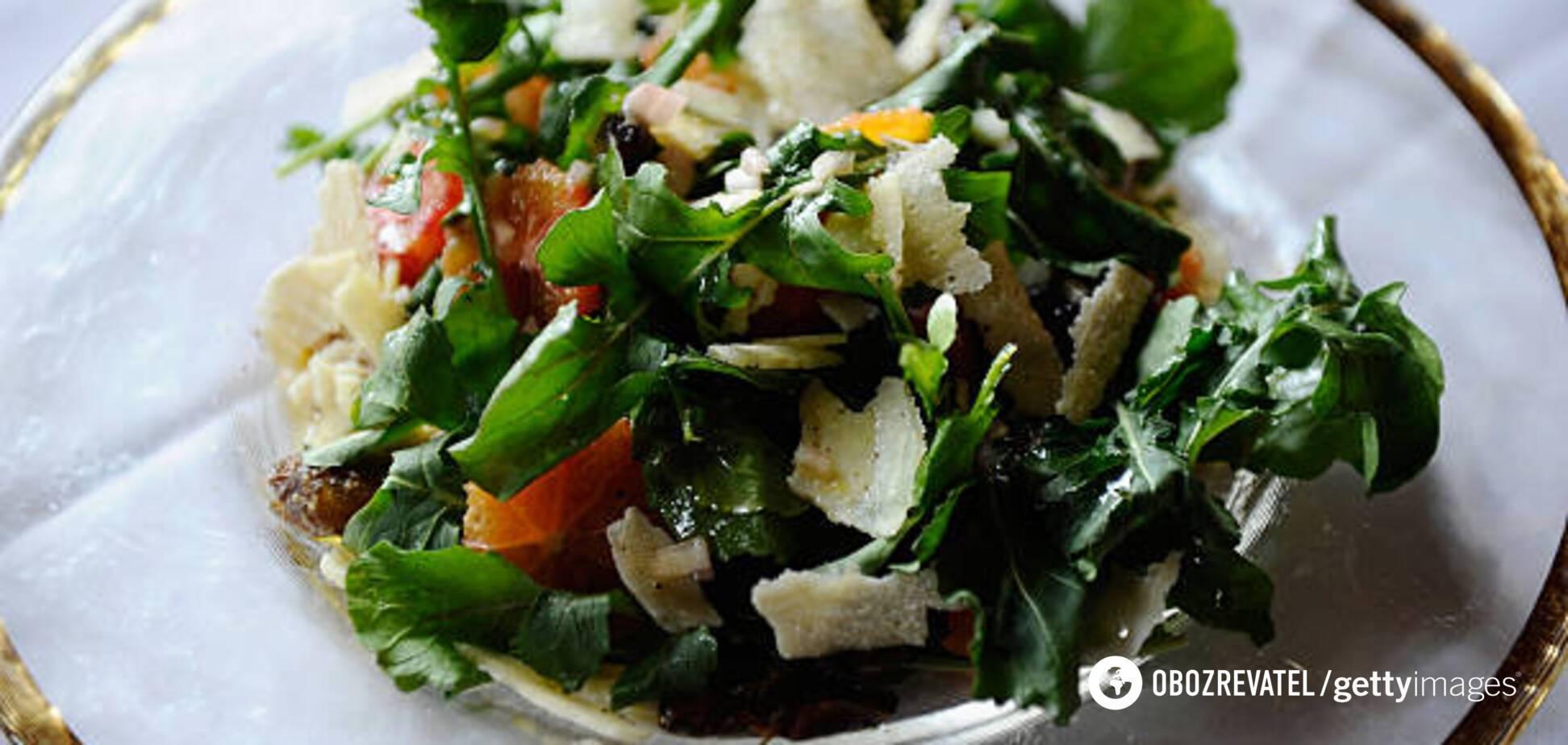 Омолаживающий салат от диетолога
