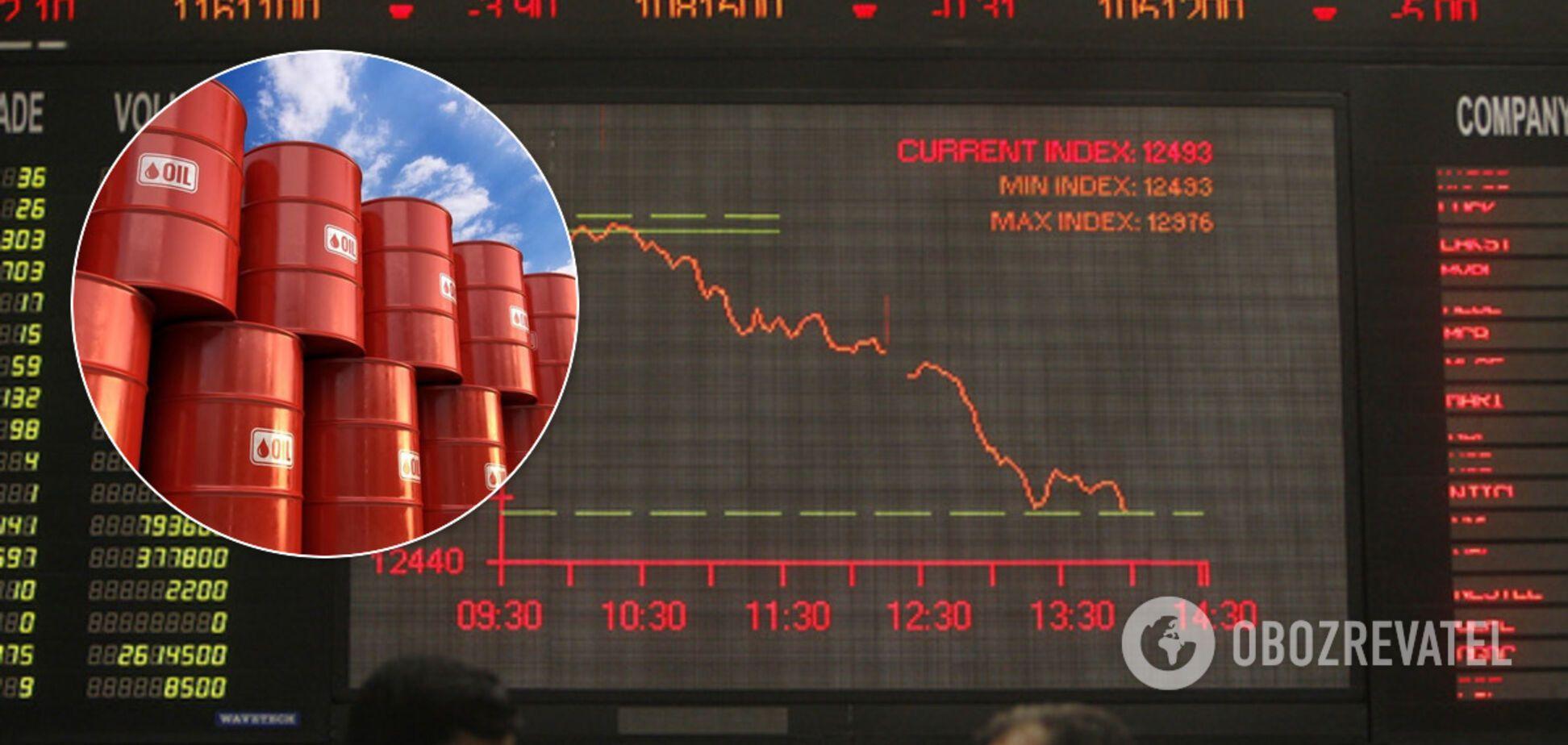 Названа настоящая причина обвала цен на нефтяных рынках
