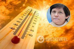 Украину раскалит до 40 градусов и больше: климатолог сделала тревожный прогноз