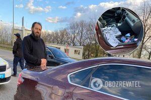 В Харькове поймали 'пьяного в мясо' священника за рулем