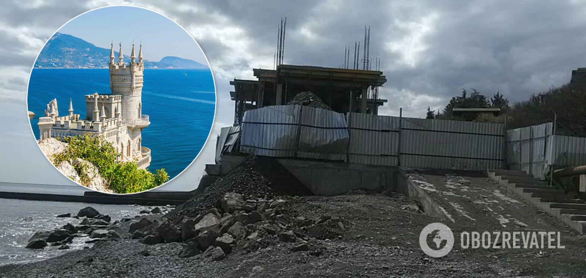 В Крыму оккупанты отобрали у людей бесплатный пляж 'Эврика' под Алуштой