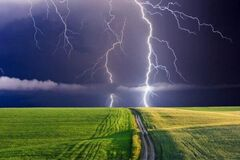 В Украине опять пройдут дожди с грозами
