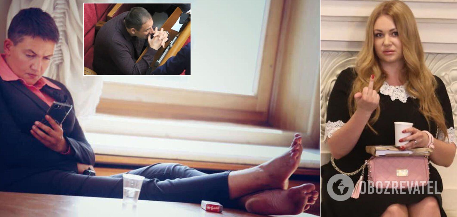 Боса Савченко, Добкін 'під кайфом' і Зеленський, що підморгує: головний фотограф Ради – про скандальні залаштунки політики