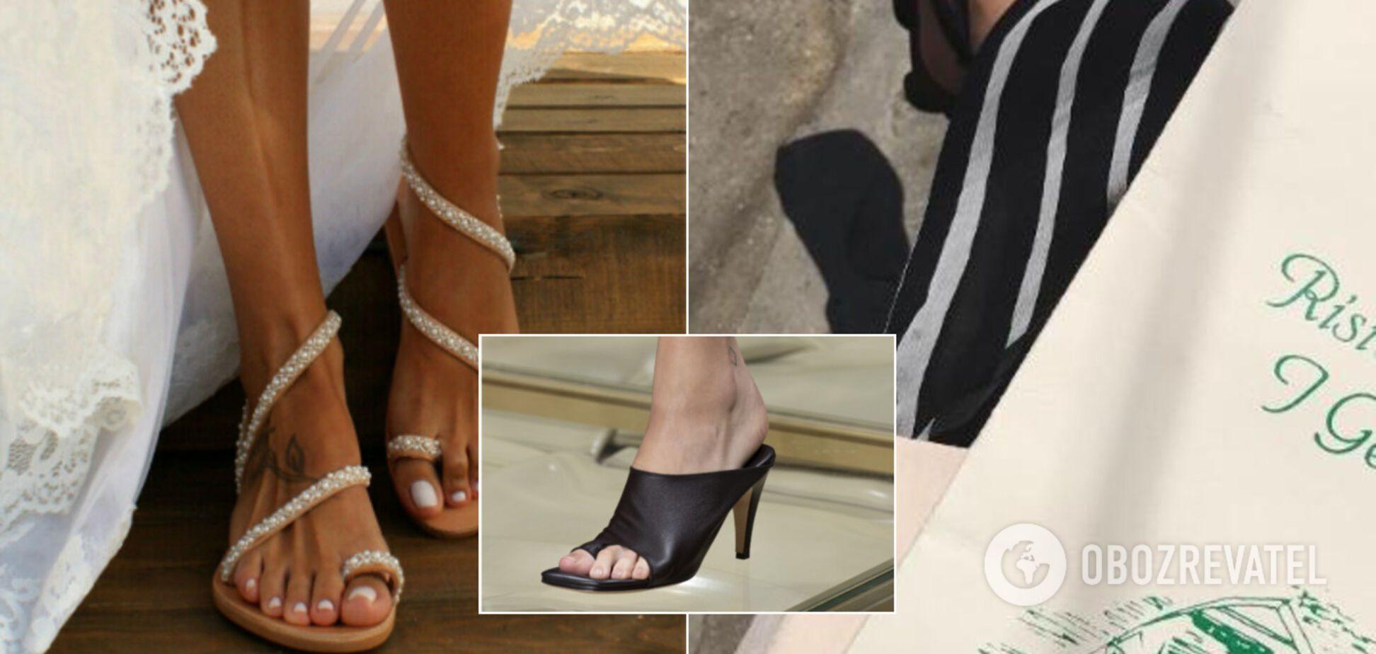 Какие босоножки носить летом 2020: назван самый модный тренд